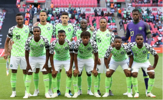 Nigeria Move Up Four Spots Now Placed 44th On FIFA